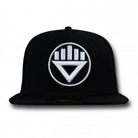 Black Lantern Symbol 59Fifty Cap