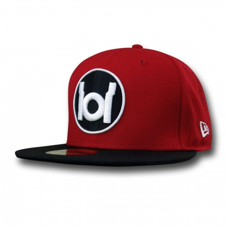 Red Lantern Symbol Red & Black 59Fifty Hat
