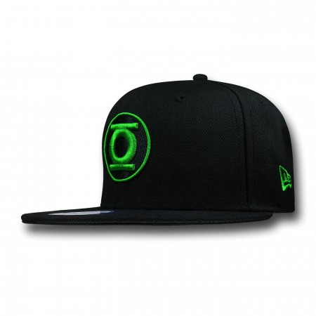 Green Lantern Symbol Kids Black 9Fifty Cap