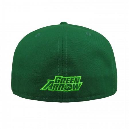 Green Arrow Symbol 59Fifty Hat