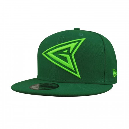 Green Arrow Symbol 9Fifty Adjustable Hat