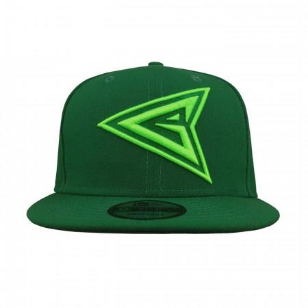 Green Arrow Symbol 9Fifty Adjustable Hat