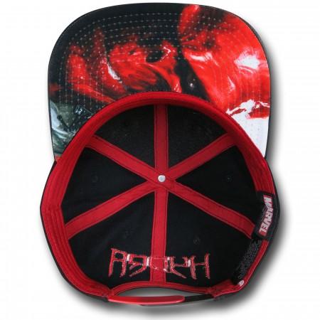 Hydra Symbol Snapback Cap