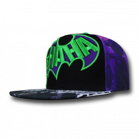 Joker Sublimated Emblem Snapback Cap
