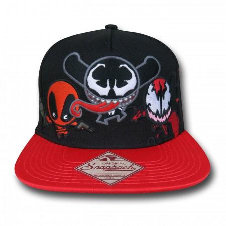 Marvel Kawaii Villains Snapback Cap