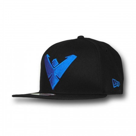 Nightwing Symbol 9Fifty Black Snapback Cap