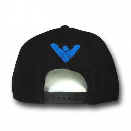 Nightwing Symbol 9Fifty Black Snapback Cap