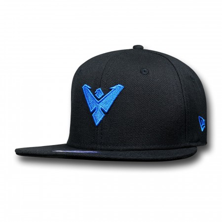 Nightwing Symbol Kids Black 9Fifty Cap