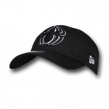Spider-Man 3D Symbol Black 39Thirty Baseball Cap