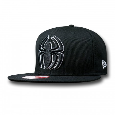 Spider-Man Symbol New Era 9Fifty Black Cap