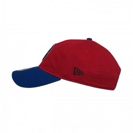 Spider-Man Blue and Red New Era 9Twenty Adjustable Hat