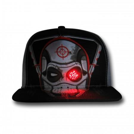 Suicide Squad Deadshot Light Up Snapback Hat