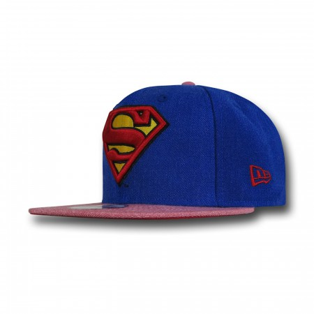 Superman Hero Heather New Era 9Fifty Cap