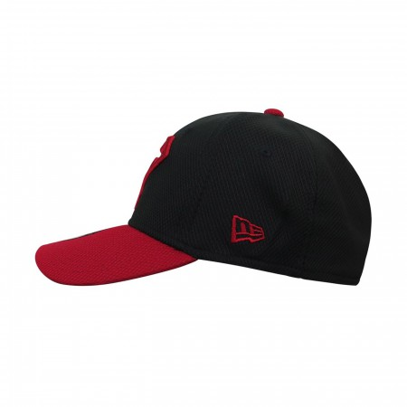 Superboy Symbol Red & Black 39Thirty Fitted Hat