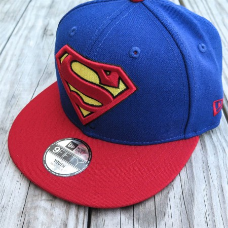 Superman Symbol Kids Blue 9Fifty Cap