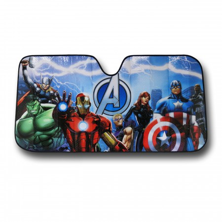 Avengers Group Car Sunshade