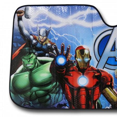 Avengers Group Car Sunshade