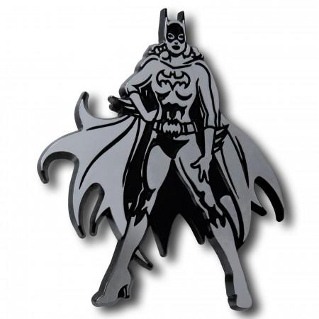 Batgirl Pose 3D Plastic Car Emblem