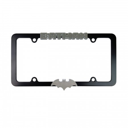 Batman Hush Symbol Metal License Plate Frame
