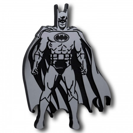 Batman Pose 3D Plastic Car Emblem