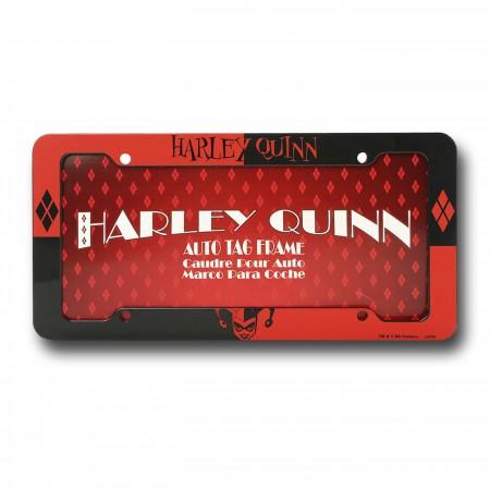Harley Quinn License Plate Frame