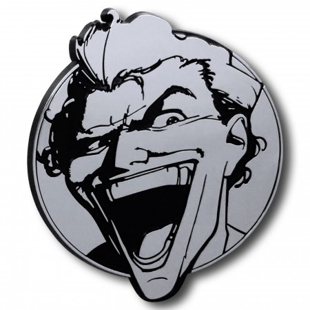 Joker Laugh 3D Plastic Car Emblem