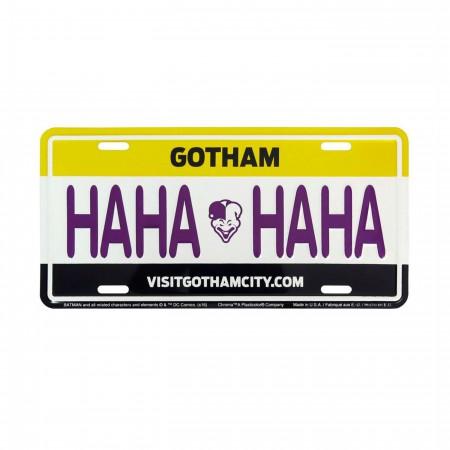 Joker HAHA License Plate