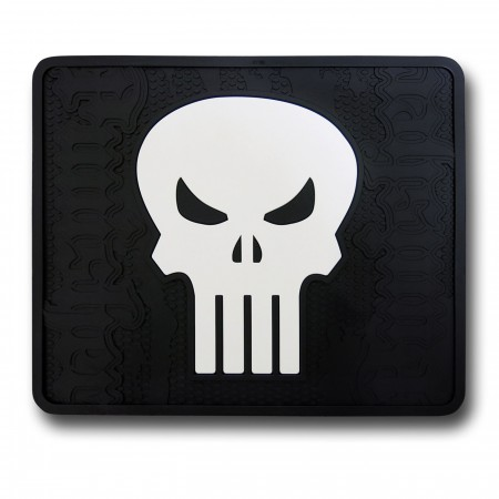 Punisher Skull Rear Car Mat