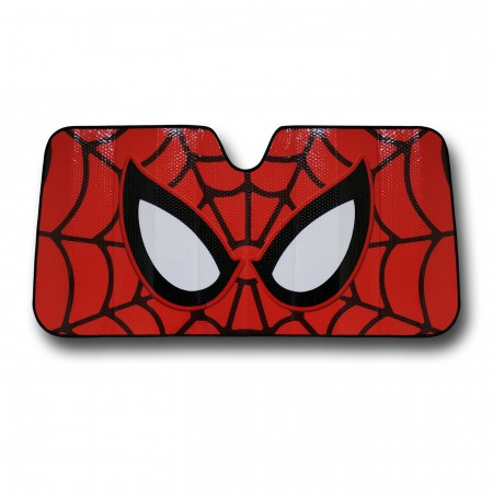 Spider-Man Mask Car Sunshade