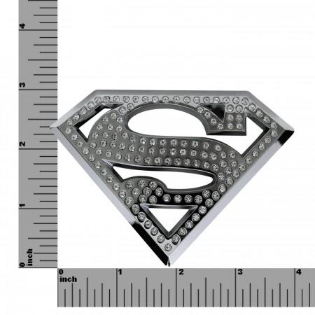 Superman Bling Symbol 3D Plastic Car Emblem