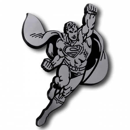 Superman Flying 3D Plastic Car Emblem