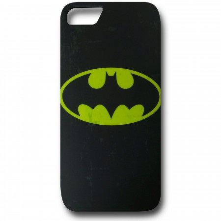 Batman Distressed Symbol iPhone 5 Case