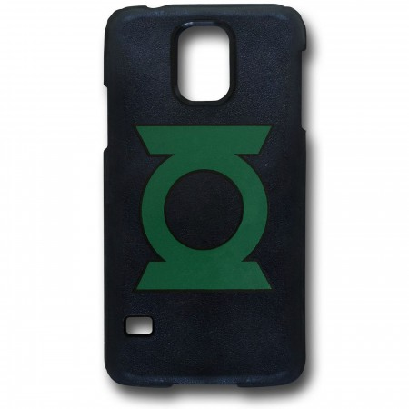 Green Lantern Symbol Galaxy S5 Black Thinshield Case