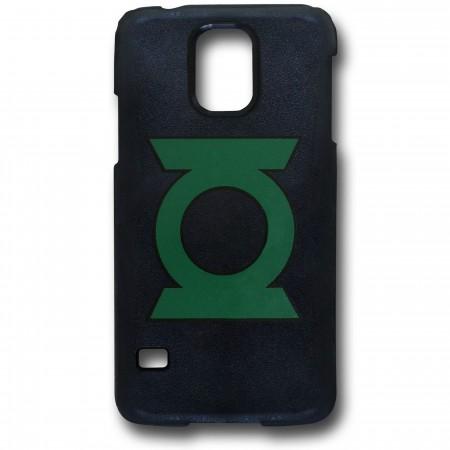 Green Lantern Symbol Galaxy S5 Black Thinshield Case