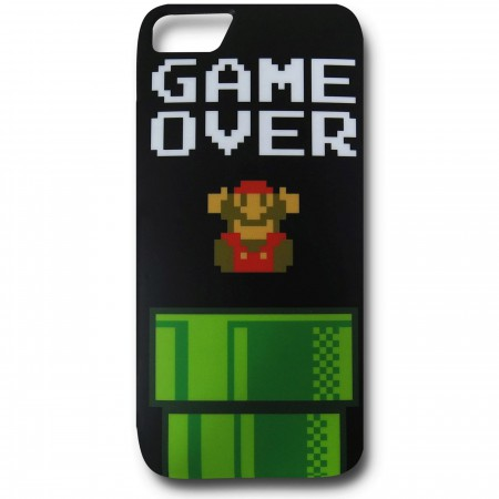 Nintendo Mario Game Over iPhone 5 Case