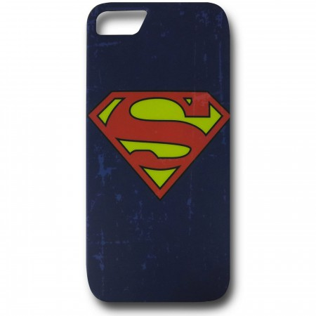 Superman Distressed Symbol iPhone 5 Case