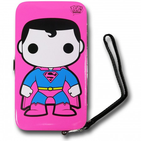 Funko Superman Neon Universal Cell Phone Hinge Wallet