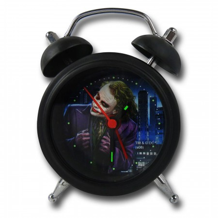 Batman Dark Knight Joker Mini Alarm Clock