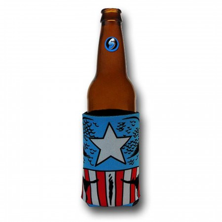 Captain America Costume Can and Bottle Cooler