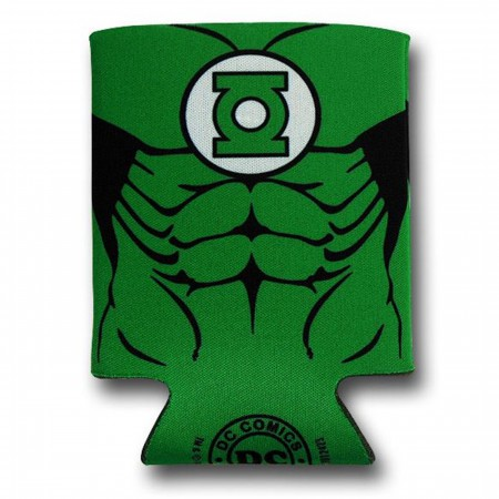 Green Lantern Costume Can and Bottle Cooler