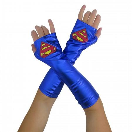 Supergirl Costume Gauntlets