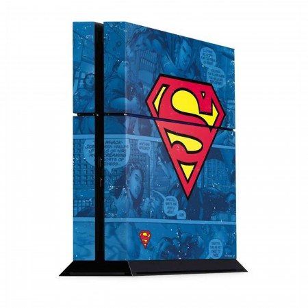Superman Symbol PS4 Console Skin
