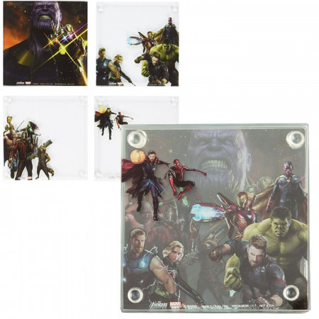Avengers Infinity War Coaster Set of 4