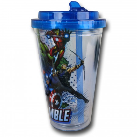Avengers Flip Top Cup