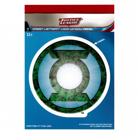 Green Lantern Symbol Car Window Decal
