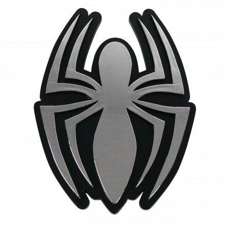 Spider-Man Symbol Chrome Car Emblem