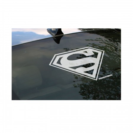 Superman Large Window Car Decal