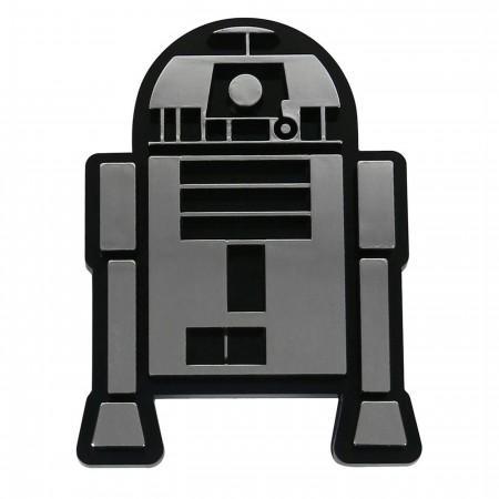 Star Wars R2-D2 Chrome Car Emblem