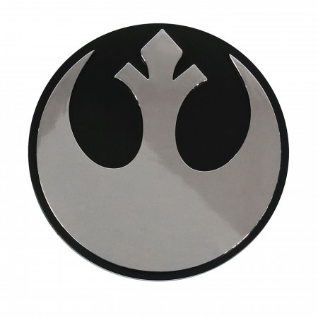 Star Wars Rebel Chrome Car Emblem