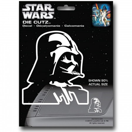 Star Wars Vader Die Cut Decal